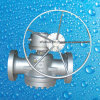 Válvula de plugue da extremidade da flange do aço inoxidável do molde