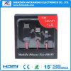 Mhl Mikro-Kabel-Adapter USB-3.0 HDTV für Samsung-Galaxie S4
