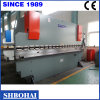 Freio de aço quente da imprensa do metal de folha da venda de Wd67y 100t/5000