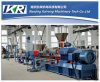 Heißer Ausschnitt-Typ hölzerner PVC/PE Tabletten/Körnchen-Extruder/Herstellung-Maschinen