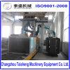 Máquina quadrada contínua da limpeza da poeira/equipamento industrial do sopro de tiro do rolo