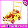 2016 neues Baumuster-Baby-Baustein-Wanderer-Spielzeug, hölzernes Baby-Wanderer-Multifunktionsspielzeug, populäres Wagen-Spielzeug W16e020