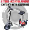 4 de Scooter Bike van de Autoped ATV van Petrol Powered van de slag 49cc