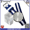 Horloge van de Band van de Pols van het Gezicht van de Wijzerplaat van de Zonnestraal van de Beweging van het Horloge van het Kwarts van de Manier van yxl-631 2016 het Chinese Nylon