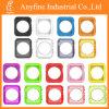 Caso transparente del color TPU para el teléfono elegante del reloj de Apple
