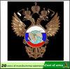 Emblema del metal del águila de la Doble-Cabeza para la decoración