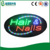 China Made LED Hair Nails Sign para Barber Shop (HSH0219)
