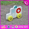 Giocattolo bianco dell'ambulanza dell'ospedale di qualità superiore 2015, automobile del giocattolo dell'ambulanza di buona qualità, giocattolo dell'automobile dell'ambulanza per il regalo W04A129 di promozione dell'ospedale
