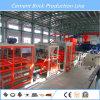 QT6-15 automática vibración del bloque de cemento que hace la máquina Máquina de ladrillo macizo