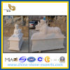 정원을%s 백색 Polished Marble Stone Sculpture