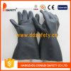 Черные перчатки неопрена индустрии с длинним тумаком (DHL808)