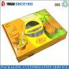 Caja de regalo de empaquetado de papel de la caja del color de oro