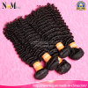 Strongeの織り方および二重よこ糸7Aの加工されていないカンボジアの巻き毛の深い波の人間のRemyのバージンの毛