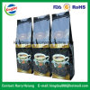 Flache Unterseiten-Kaffee-Beutel mit Ventil u. Zinn-Tae