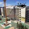 Plate-forme suspendue par corde pour le berceau de construction