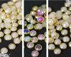 2016 neuer Entwurf flaches Fack beinahe ringsum Nagel-Perle für Telefon-Kasten (FB-6mm Weiß)