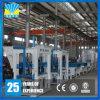 3 años de la garantía de la pavimentadora del ladrillo de fabricación concreta de alta densidad de la máquina