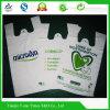 La coutume a imprimé les sacs en plastique en plastique biodégradables en plastique de gilet de LDPE/HDPE