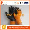 Померанцовое Nylon с Black Nitrile Glove-Dnn340