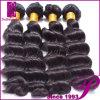インド人100%年のバージンの長い毛ボディねじれの毛の編むこと