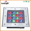Nieuwe 16*1W LED Underground Outdoor Garden Light IP66