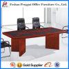 PU Cover를 가진 최신 Design Reddish Wooden Meeting Table