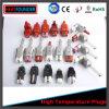 De elektrische Hoekige Contactdoos Op hoge temperatuur van de Stop van de Stop