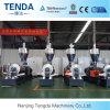 Tenda рециркулирует пластичные зерна делая цену машины