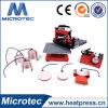 Tipo manual máquina combinada Dch-800 de la prensa del calor