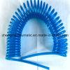 Manguera Transparente-Azul de la bobina de la PU (dureza 95A)