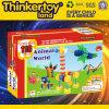 Brinquedo animal plástico da instrução por atacado DIY para crianças