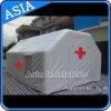 Aufblasbares Zelt, aufblasbare Unfallstation, aufblasbares medizinisches Zelt, aufblasbares Rettung-Zelt, aufblasbares mobiles Krankenhaus-Zelt