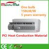 уличное освещение УДАРА СИД кондукции жары PCI 90W-180W материальное