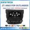 미츠비시 Outlander 2006-2012년을%s Zestech 자동 라디오 차 DVD