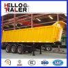 3 Aanhangwagen van de Stortplaats van assen de Achter voor Erts/Minerale Vervoer