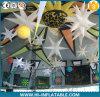 Partido por encargo, estrella inflable encendida LED colgante No. Bst004 de la decoración del acontecimiento para la venta