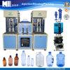 Botella de agua mineral plástica Semi-Auto que hace la máquina