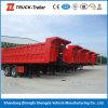 Трейлер Tipper трактора трейлера фермы трейлеров сброса гидровлического цилиндра Tri-Axle коробки груза