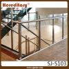 Poste de cristal del pasamano de la escalera de la barandilla del acero inoxidable (SJ-S103)