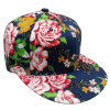 Casquette de baseball florale de mode de tissu avec Snapback Sb1598