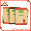 Gewundenes Bambusdeckel-Tagebuch für Förderung (BNB369)