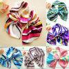 Silk шарфы смычка с продавать печатание горячий! Экономичный Silk шарф натянутого лука в большом части