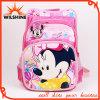 Bolsa de poliéster lindo Mickey estudiantes de la escuela para niñas (SB021)