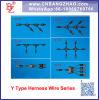 De uitstekende kwaliteit Ingeblikte Schakelaars van het Type van Koper Y van IP67 de ZonneAssemblage van de Bedrading van de Uitrusting van de Tak uitrusting-Y3