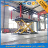 Scissor la piattaforma Underground Garage Lift di Hydraulic Double per Two Cars