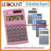 8 dígitos se doblan la calculadora de bolsillo de la energía LC332