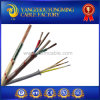 Elevado-temperatura Braided 24AWG Cable do UL Certificated 550deg c