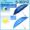 Nuevo paraguas cambiante publicitario del color cuando sol