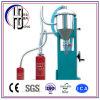 Máquina de enchimento do pó do extintor de incêndio do aço inoxidável de boa qualidade