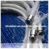 Grande diametro nessun tubo di aspirazione della gomma di silicone del grado medico dell'odore
